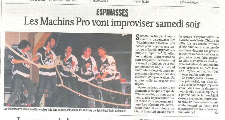 Match Saint-Paul 3 Chateaux (Janvier 2011)