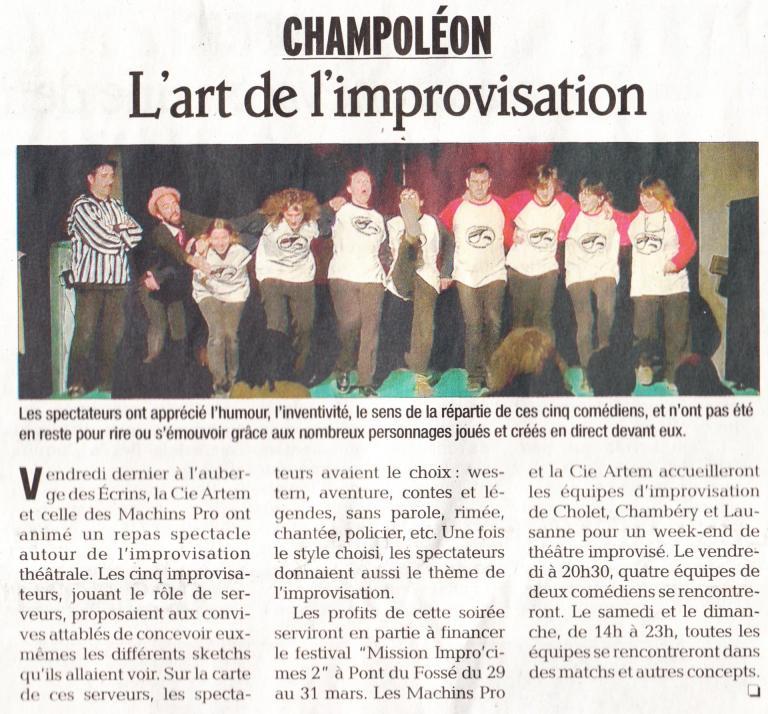 Article Champo (15 Mars 2013)