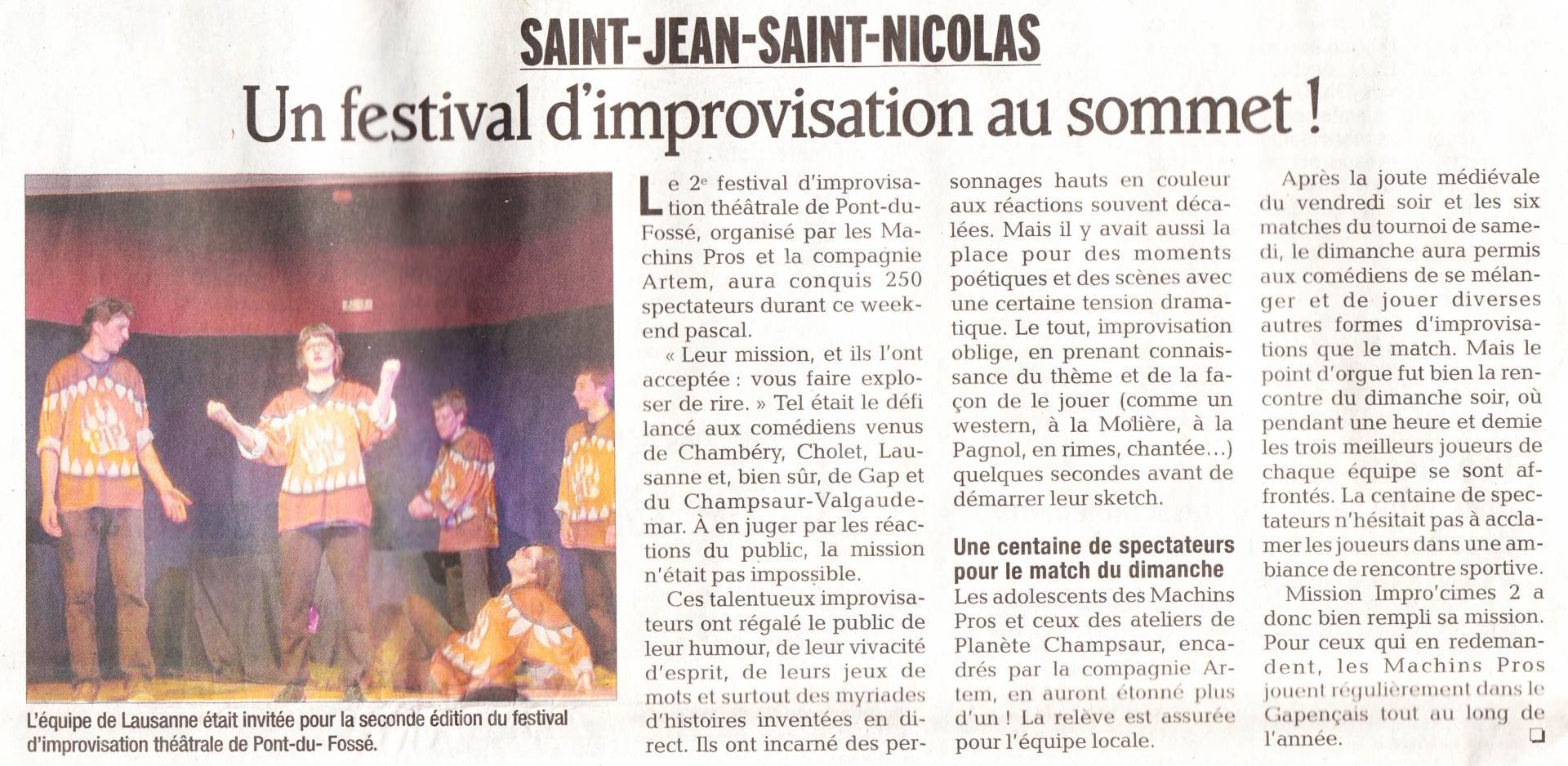 Article Festival 03 (6 Avril 2013)