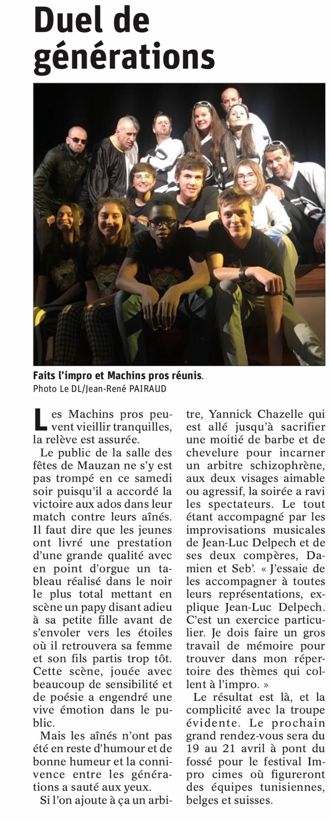 Article match ados adultes (Avril 2019)