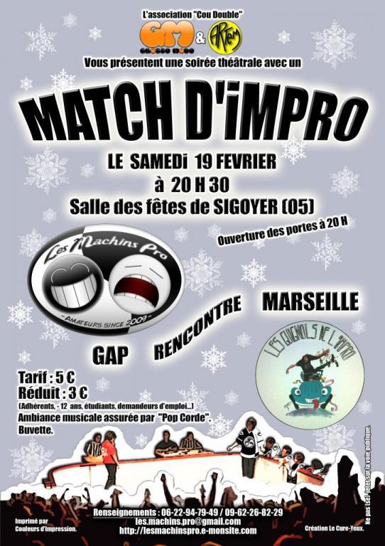 Match impro hiver