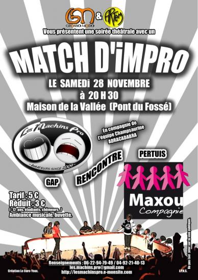Match impro ancien