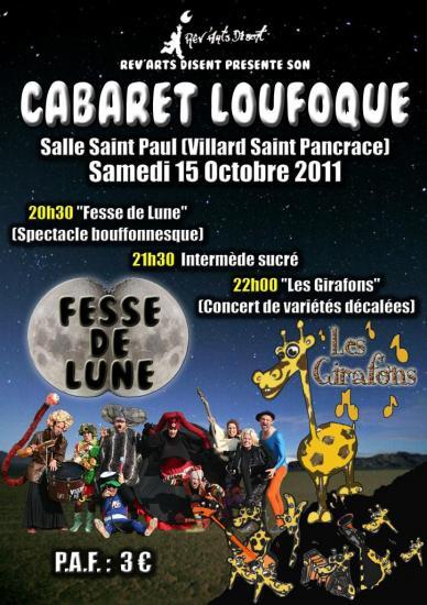 Cabaret loufoque