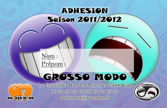 Carte membre Grosso Modo
