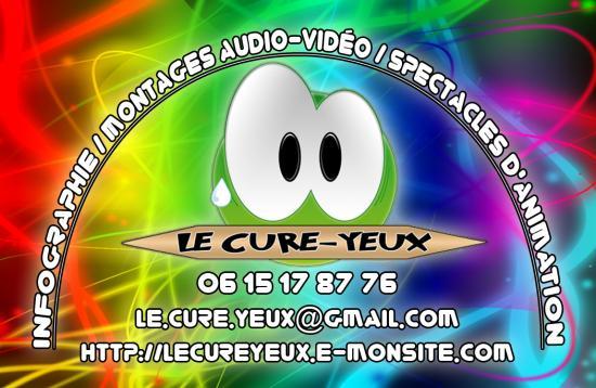 Ancienne carte de visite Le Cure-Yeux