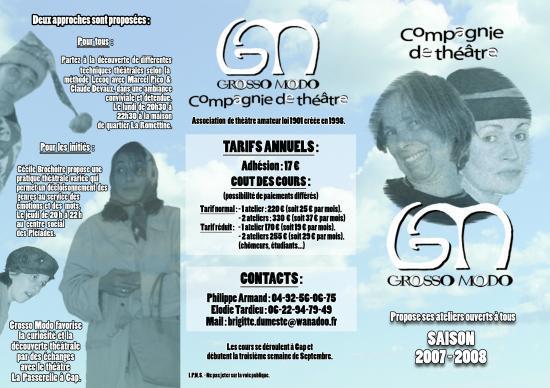 Grosso modo 2007-2008 recto