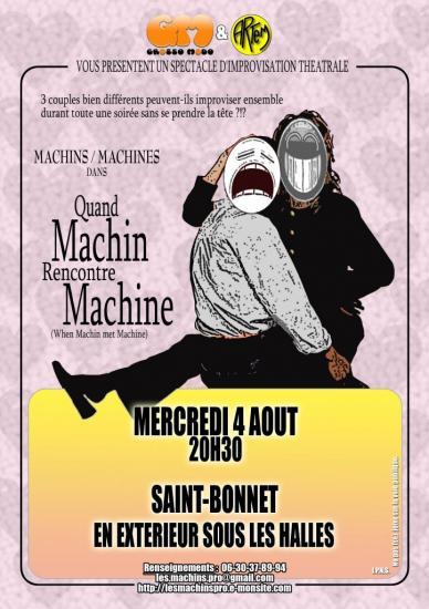 Quand machin rencontre machine