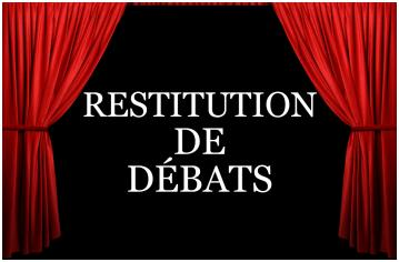 Vignettes restitution debat white