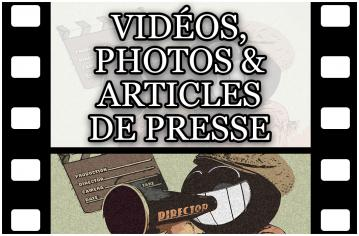 Vignettes stages court metrage medias white